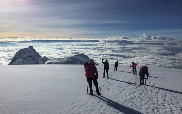 gap year mountaineering program in ecuador