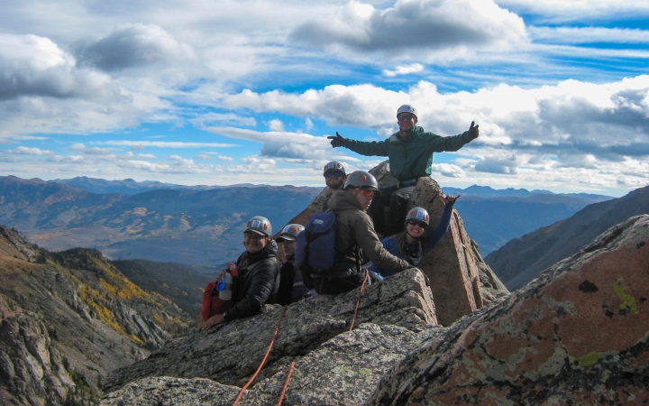 gap year rock climbing adventure in colorado