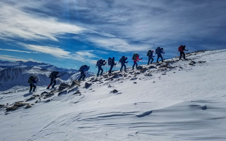 mountaineering adventure in ecuador