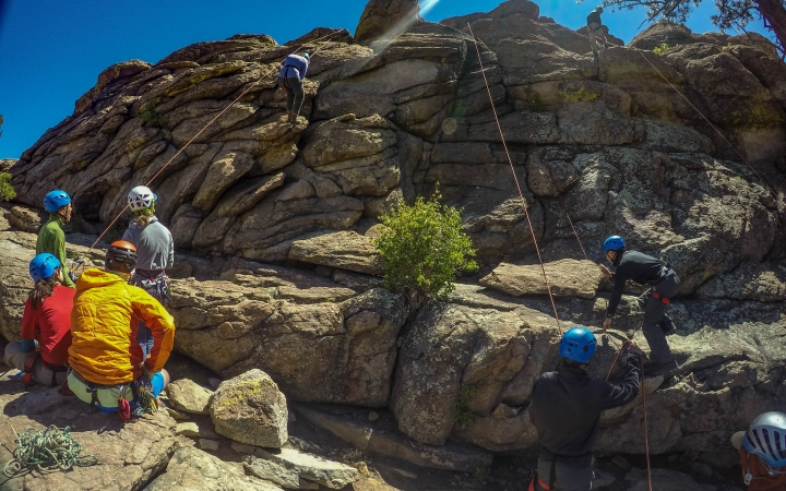 backpacking class for teens in colorado