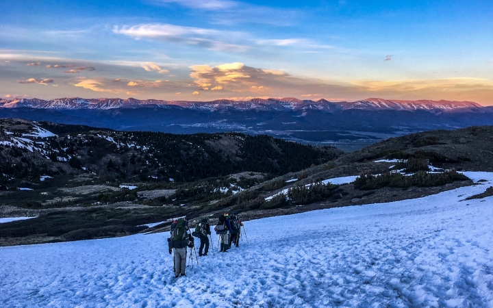 colorado rockies backpacking school for teens