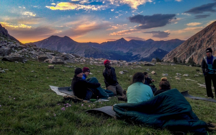 summer backpacking program for teens