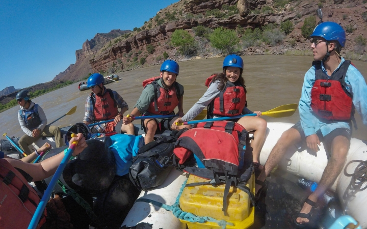 rafting course for adults in the southwest