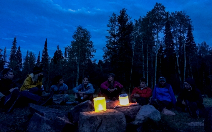 backpacking instruction for adults in the southwest