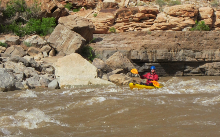 kayaking in the southwest