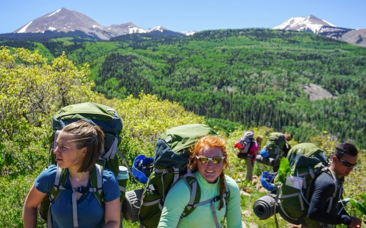 backpacking summer program for teens in the southwest
