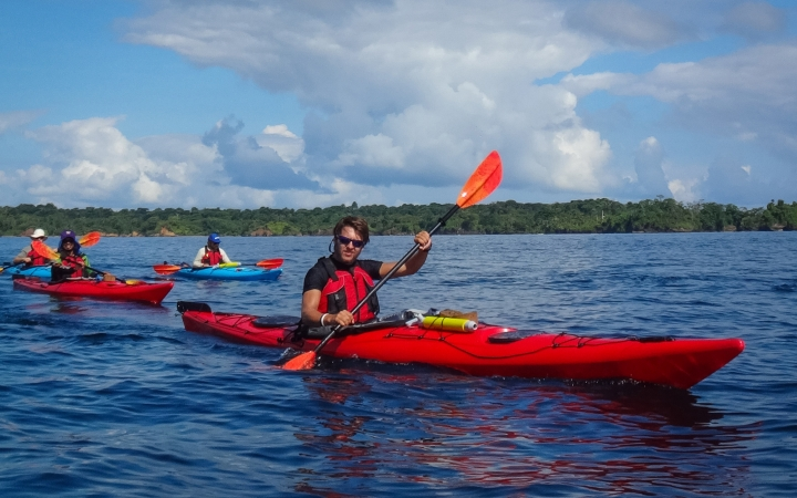 learn sea kayaking with outward bound