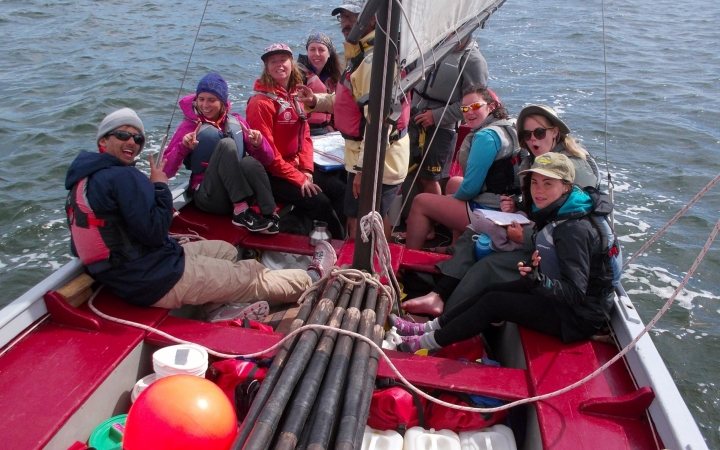 learn sailing on gap year expedition