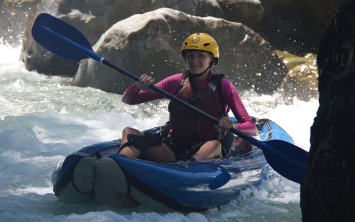 whitewater canoeing in costa rica