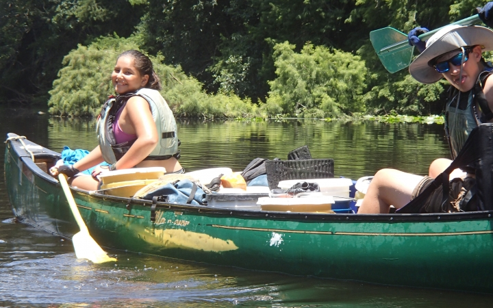 canoeing trips in florida