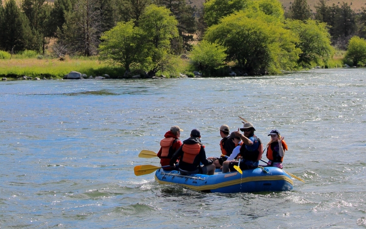 white water rafting deschutes