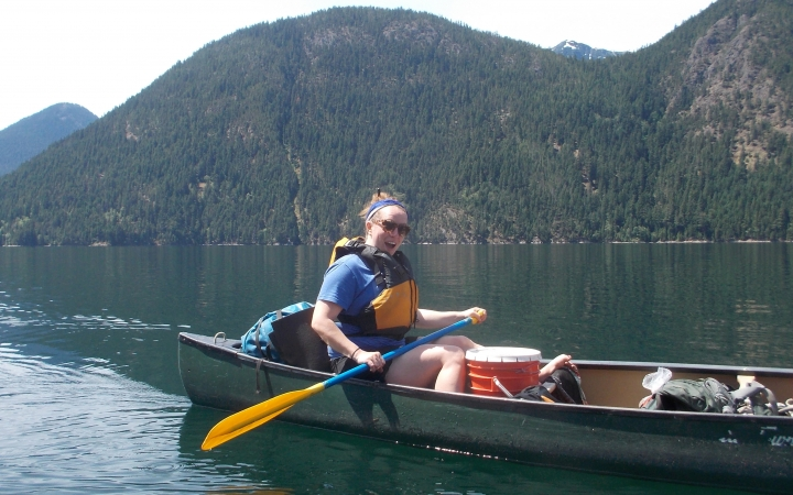 wilderness canoeing program for girls