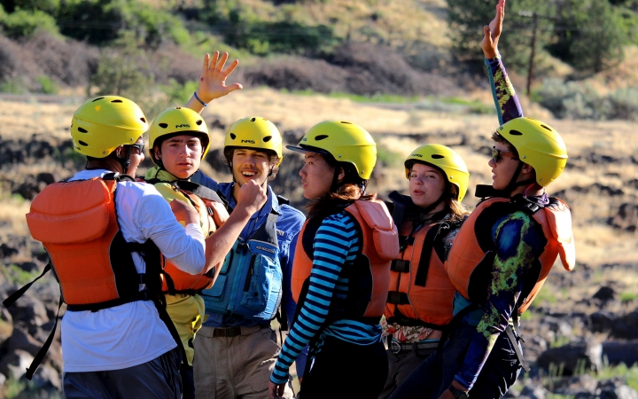 outdoor leadership program for teens