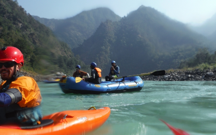 rafting program for young adults