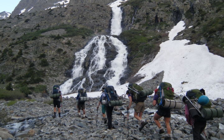 backpacking trip for adults in california