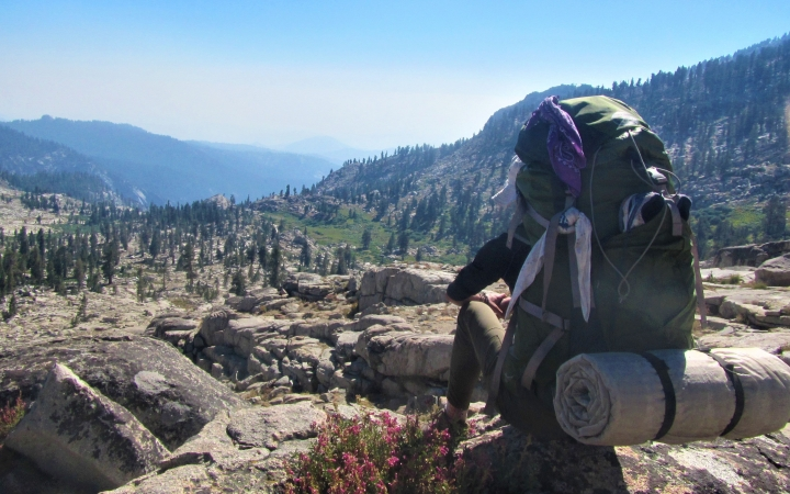 adults learn how to backpacking with outward bound