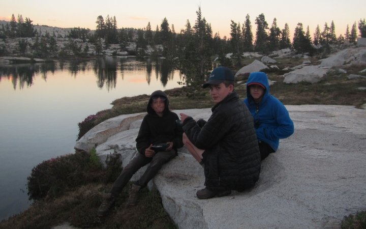 yosemite backpacking adventure trip for boys