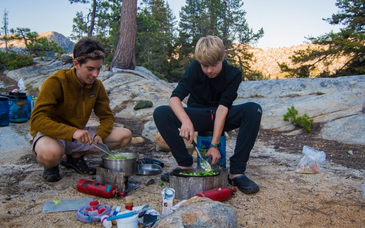 outdoor leadership program for teen boys in yosemite national park