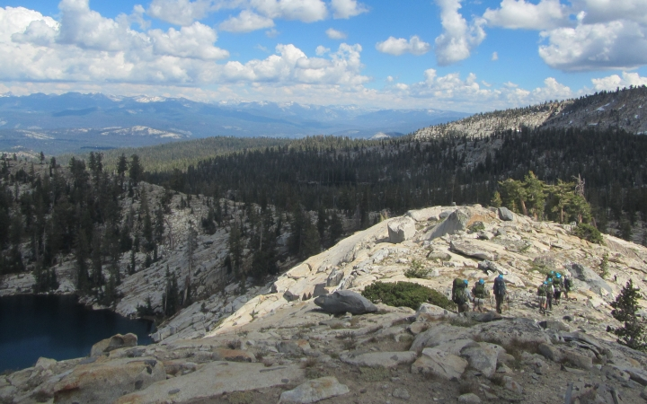 backpacking adventure for girls in yosemite national park
