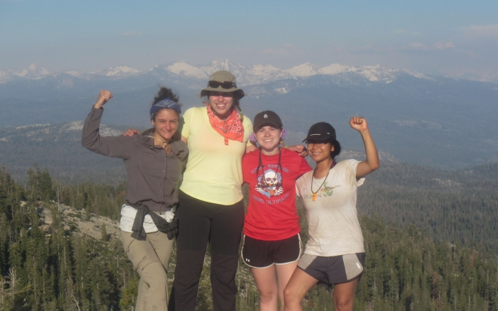 backpacking expedition for teen girls in yosemite national park