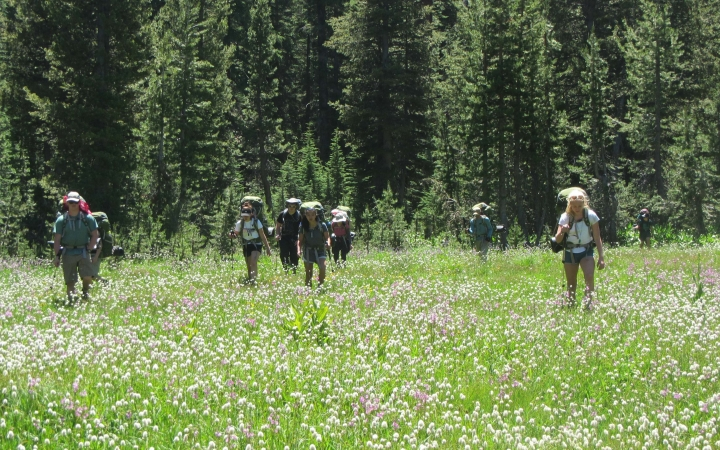 backpacking adventure trip for lgbtq+ teens