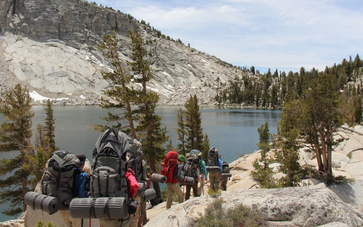 backpacking program for lgbtq+ teens in yosemite national park
