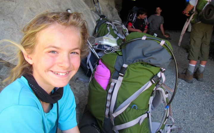summer backpacking program for teens in yosemite