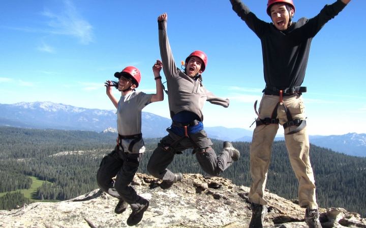 backpacking summer camp for teens in yosemite