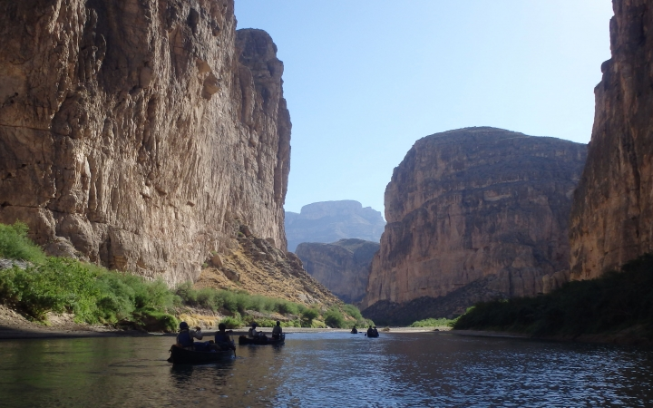 canoeing trip in big bend