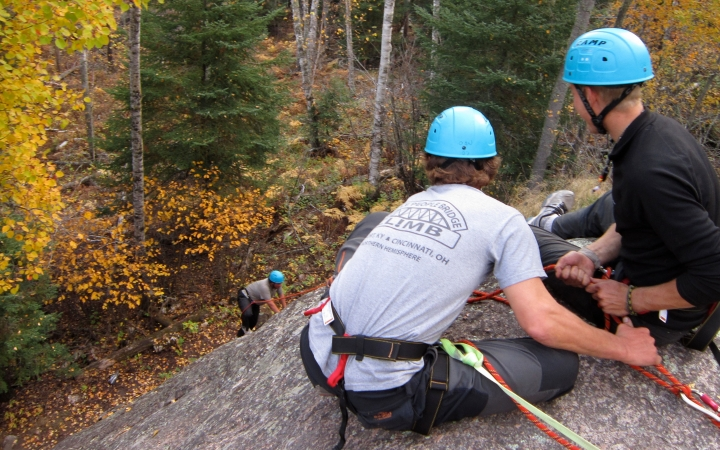 canadian border rock climbing