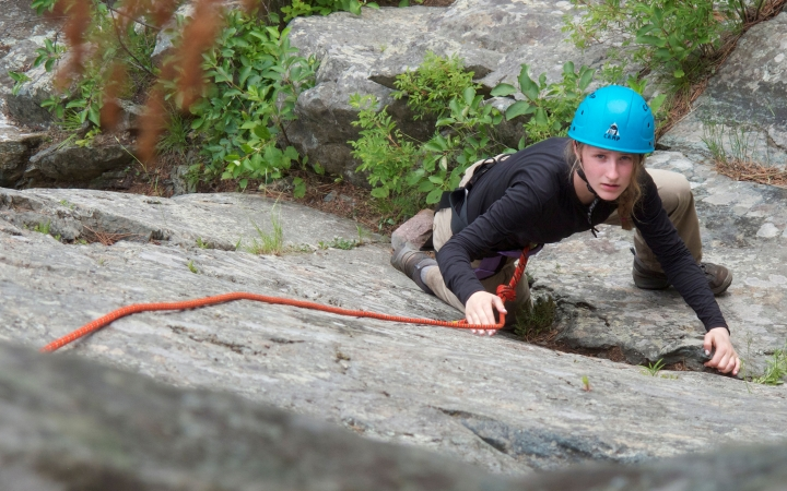 boundary waters rock climbing