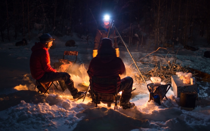boundary waters winter camping expedition