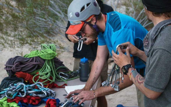 learn how to rock climbing during semester with outward bound