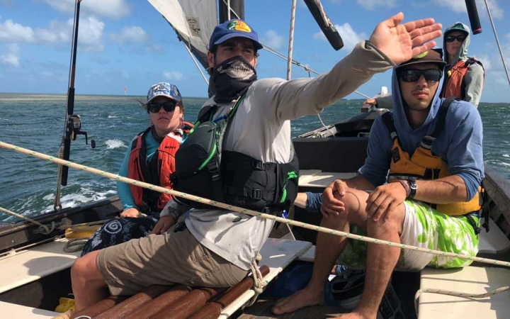 sailing expedition with outward bound