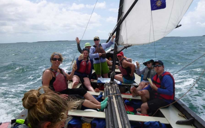 semester sailing course in florida keys