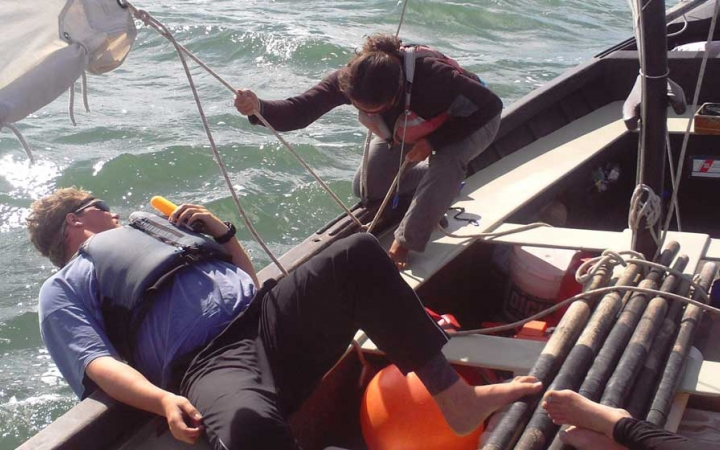 sailing semester with outward bound