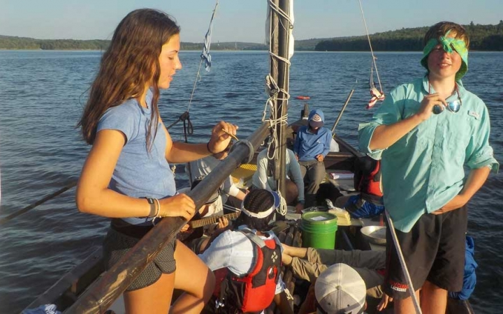 sailing lessons for teens in maine