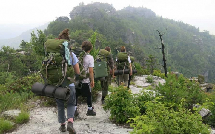 NC Mountains Backpacking & Whitewater Canoeing   Outward