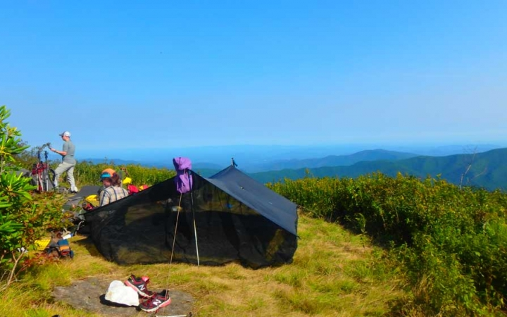 blue ridge mountains camping