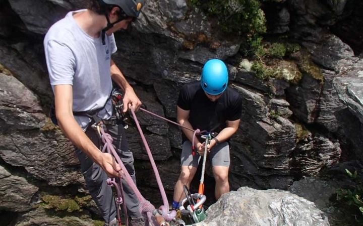rock climbing for young adults in north carolina