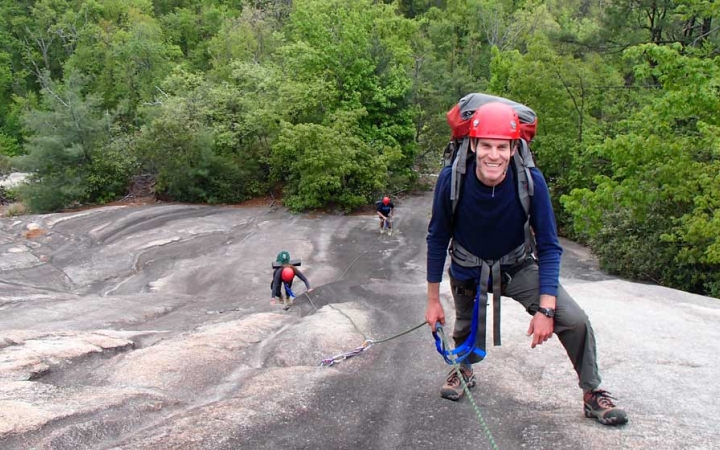 rock climbing trip for adults in north carolina