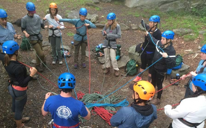 adults only outdoor leadership trip