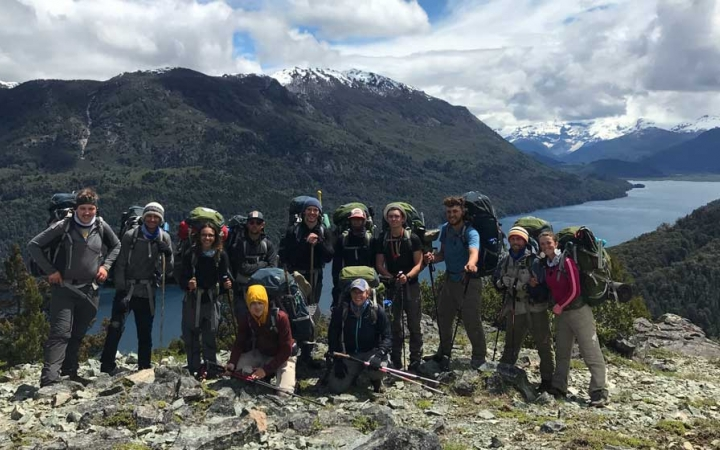 outdoor leadership in Patagonia