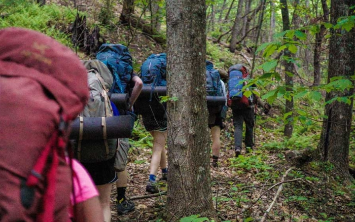 backpacking trip for families in north carolina