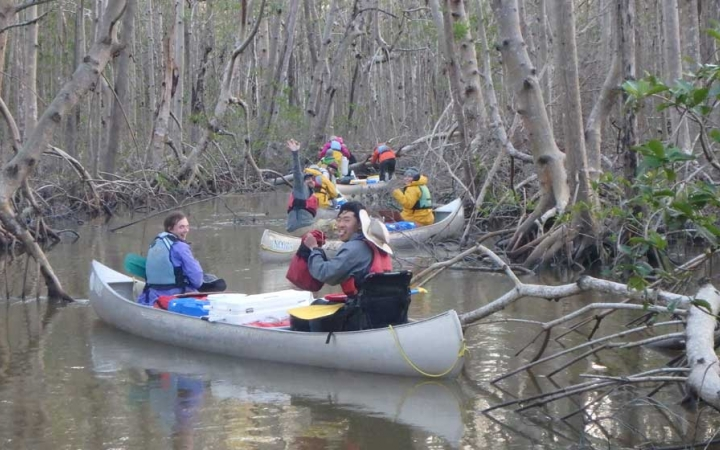 canoeing class for teens in florida