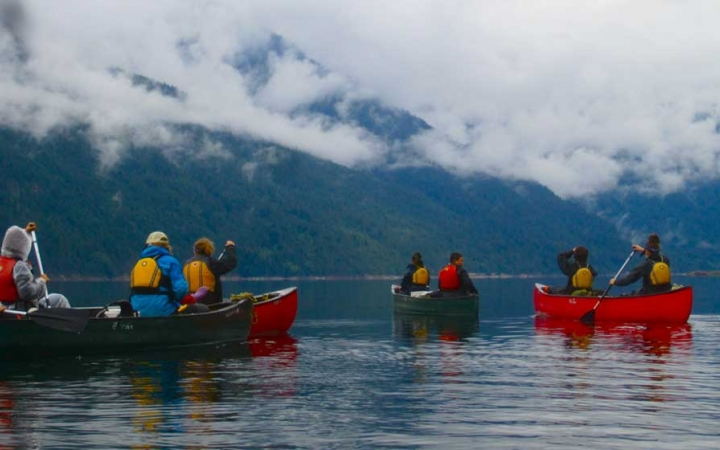 canoeing north cascades