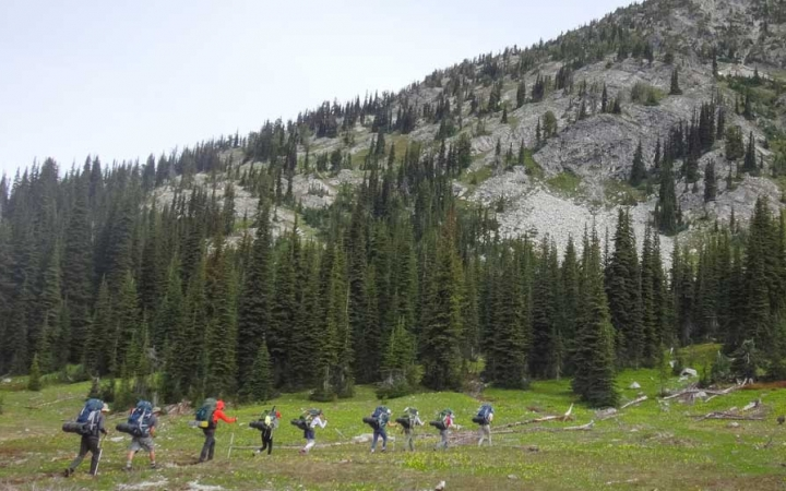 wilderness backpacking program for adults