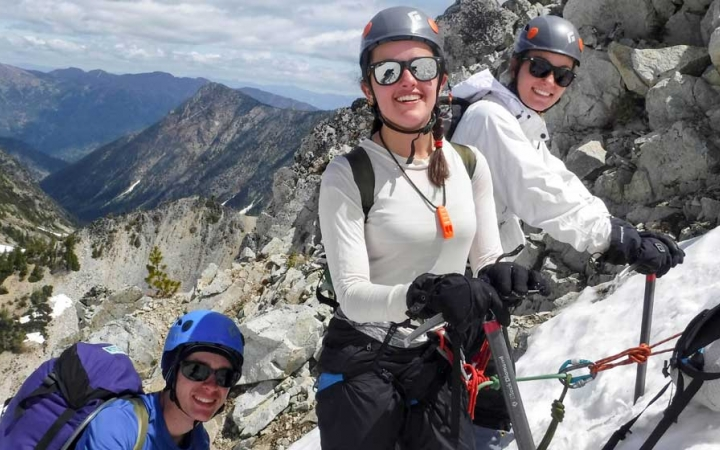mountaineering trip for adults