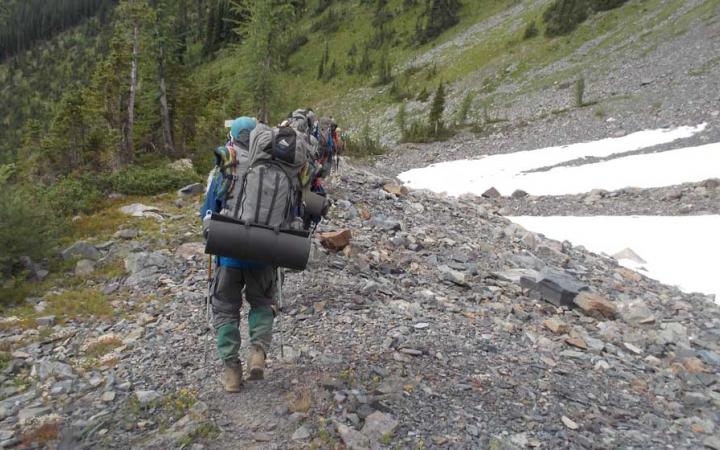mountaineering north cascades