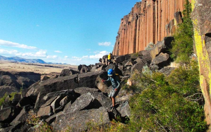 gap year rock climbing adventure